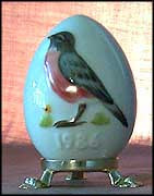 1986 Robin, Goebel Annual Easter Egg