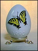 1990 Butterfly, Goebel Annual Easter Egg MAIN