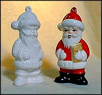 1978 Santa Claus white, Goebel Annual Christmas Ornament