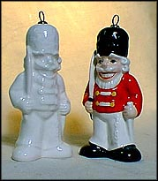 1981 Toy Soldier white, Goebel Annual Christmas Ornament