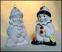 1983 Clown color, Goebel Annual Christmas Ornament