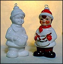 1986 Little Drummer Boy white, Goebel Annual Christmas Ornament