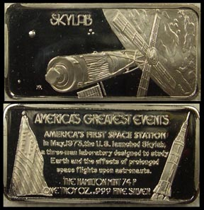 Skylab' Art Bar by Hamilton Mint.