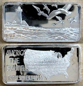 Cape Cod' Art Bar by Hamilton Mint.