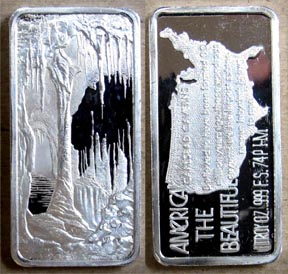 Carlsbad Caverns' Art Bar by Hamilton Mint.