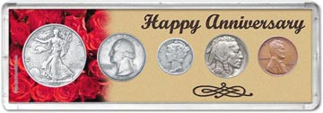 1935 Happy Anniversary Coin Gift Set THUMBNAIL