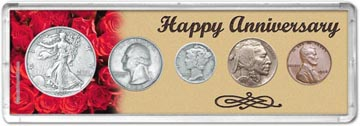 1936 Happy Anniversary Coin Gift Set THUMBNAIL