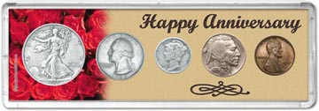 1937 Happy Anniversary Coin Gift Set THUMBNAIL