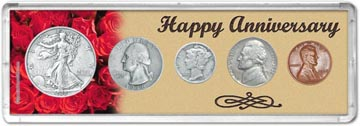 1938 Happy Anniversary Coin Gift Set THUMBNAIL