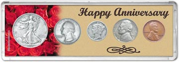 1939 Happy Anniversary Coin Gift Set THUMBNAIL