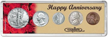 1941 Happy Anniversary Coin Gift Set THUMBNAIL
