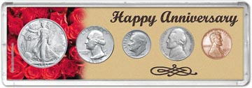 1947 Happy Anniversary Coin Gift Set THUMBNAIL