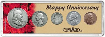 1948 Happy Anniversary Coin Gift Set THUMBNAIL
