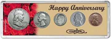 1950 Happy Anniversary Coin Gift Set THUMBNAIL