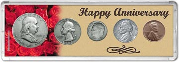 1953 Happy Anniversary Coin Gift Set THUMBNAIL