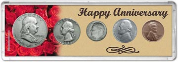 1954 Happy Anniversary Coin Gift Set THUMBNAIL