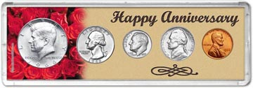 1966 Happy Anniversary Coin Gift Set THUMBNAIL