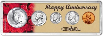 1967 Happy Anniversary Coin Gift Set THUMBNAIL