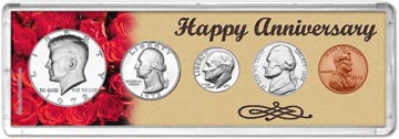 1972 Happy Anniversary Coin Gift Set THUMBNAIL