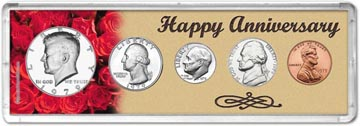 1979 Happy Anniversary Coin Gift Set THUMBNAIL