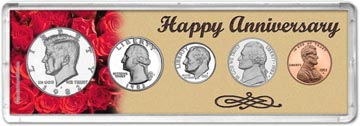 1982 Happy Anniversary Coin Gift Set THUMBNAIL