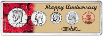 1988 Happy Anniversary Coin Gift Set THUMBNAIL