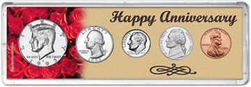 1993 Happy Anniversary Coin Gift Set THUMBNAIL