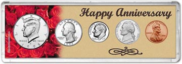 1995 Happy Anniversary Coin Gift Set THUMBNAIL