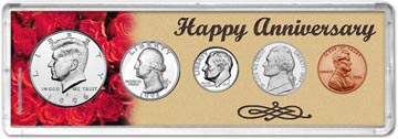 1996 Happy Anniversary Coin Gift Set THUMBNAIL