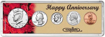 1998 Happy Anniversary Coin Gift Set THUMBNAIL