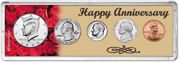 1999 Happy Anniversary Coin Gift Set THUMBNAIL
