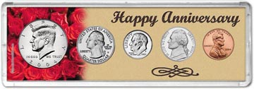 2004 Happy Anniversary Coin Gift Set THUMBNAIL