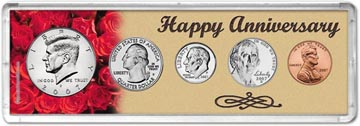 2007 Happy Anniversary Coin Gift Set THUMBNAIL