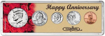 2008 Happy Anniversary Coin Gift Set THUMBNAIL