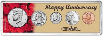 2009 Happy Anniversary Coin Gift Set THUMBNAIL