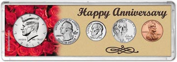 2012 Happy Anniversary Coin Gift Set THUMBNAIL