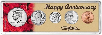 2015 Happy Anniversary Coin Gift Set THUMBNAIL