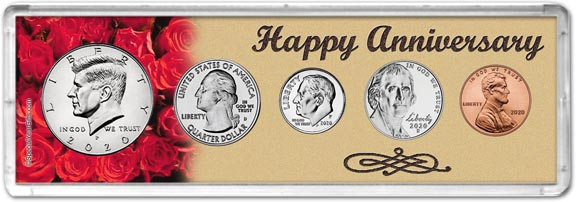 Happy Anniversary Coin Gift Set LARGE