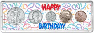 1936 Happy Birthday Coin Gift Set THUMBNAIL