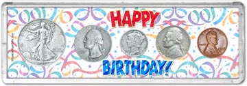 1938 Happy Birthday Coin Gift Set THUMBNAIL