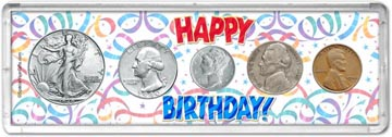 1940 Happy Birthday Coin Gift Set THUMBNAIL