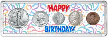 1941 Happy Birthday Coin Gift Set THUMBNAIL