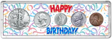1942 Happy Birthday Coin Gift Set THUMBNAIL