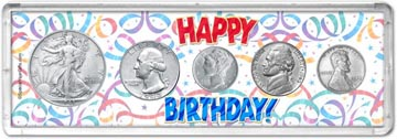 1943 Happy Birthday Coin Gift Set THUMBNAIL