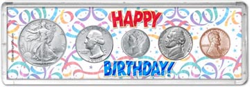 1944 Happy Birthday Coin Gift Set THUMBNAIL