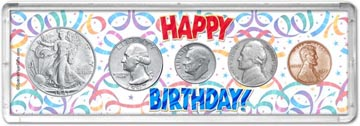 1947 Happy Birthday Coin Gift Set THUMBNAIL