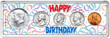 1965 Happy Birthday Coin Gift Set THUMBNAIL