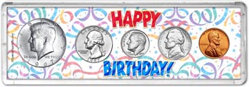 1967 Happy Birthday Coin Gift Set THUMBNAIL