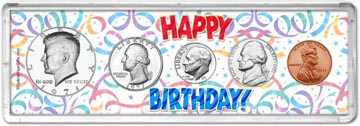 1971 Happy Birthday Coin Gift Set THUMBNAIL