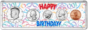 1973 Happy Birthday Coin Gift Set THUMBNAIL